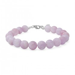 Kunzite Beaded Bracelet