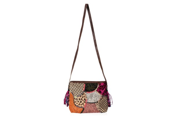 CHAOS BY ELSIE Multi Color Leather